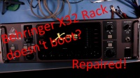 Repair - Behringer X32 doesn't boot - Electric Things